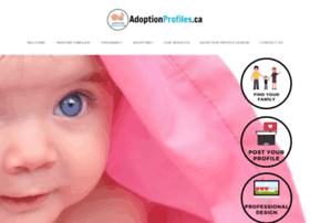 Adoptionprofiles.ca thumbnail