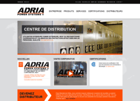 Adria-mfg.ca thumbnail
