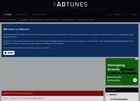 Adtunes.com thumbnail