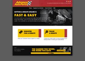 Advance Auto Parts 4myrebate Com >> advanceautoparts.4myrebate.com at WI. Rebate Center