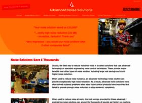 Advanced-noise-solutions.co.uk thumbnail