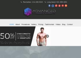 Advancedcosmeticsurgeryny.com thumbnail
