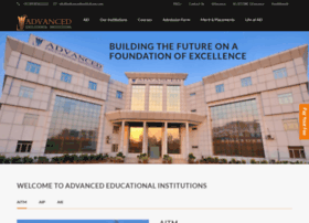 Advancedinstitutions.com thumbnail