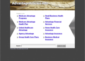 Advantagearticles.info thumbnail
