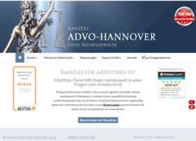 Advo-hannover.de thumbnail