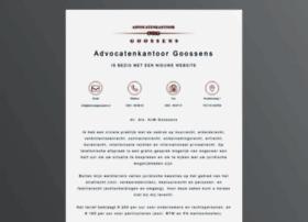 Advocatengoossens.nl thumbnail