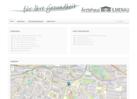Aerztehaus-ilmenau.de thumbnail