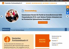 Aerztinnenbund.de thumbnail