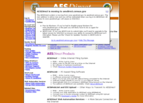 Aesdirect.gov thumbnail