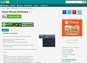 Afarsi-persian-dictionary.soft112.com thumbnail