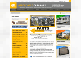 Affordablecaravans.co.nz thumbnail