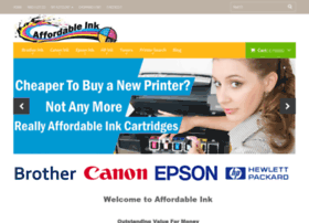 Affordableink.co.nz thumbnail