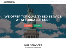 Affordableseoservices.co.in thumbnail