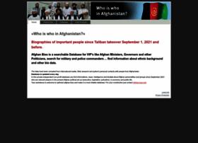 Afghan-bios.info thumbnail