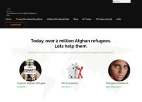 Afghanrefugee.net thumbnail