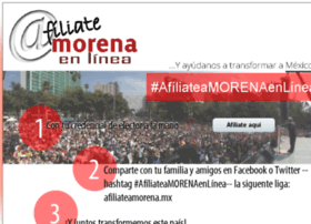Afiliateamorena.mx thumbnail