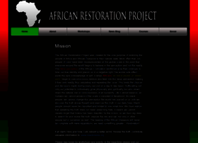 Africanrestorationproject.org thumbnail