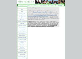 Afropages.ca thumbnail