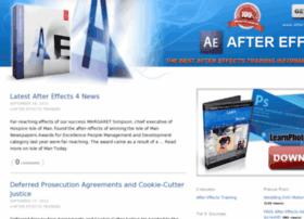 Aftereffectstraining.net thumbnail
