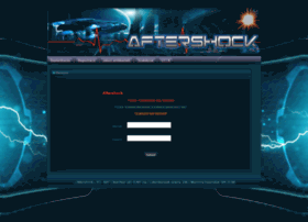 Aftershock-tracker.net thumbnail