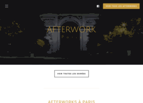 Afterwork-paris.fr thumbnail