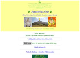 Agasthiar.org thumbnail