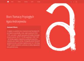 Agata-andrzejewska.pl thumbnail