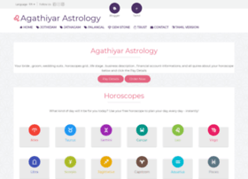 Agathiyarastrology.com thumbnail