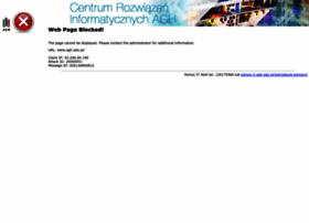 Agh.edu.pl thumbnail