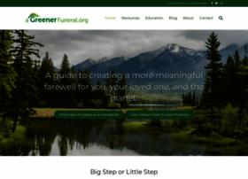 Agreenerfuneral.org thumbnail