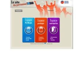 Ags.lesitedupersonnel.fr thumbnail