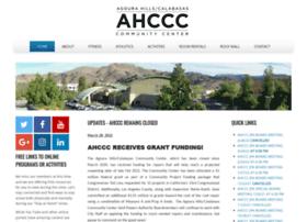 Ahccc.org thumbnail