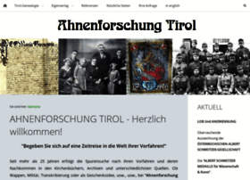 Ahnenforschung-tirol.at thumbnail