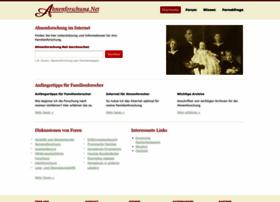 Ahnenforschung.net thumbnail
