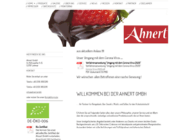Ahnert-spezialitaeten.de thumbnail