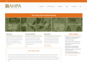 Ahpa.org thumbnail