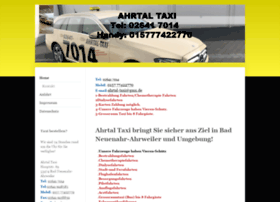 Ahrtal-taxi.de thumbnail