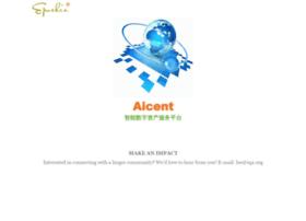 Aicent.net thumbnail