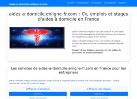 Aides-a-domicile.enligne-fr.com thumbnail