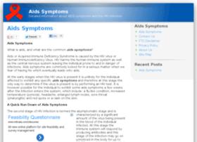Aids-symptoms.net thumbnail