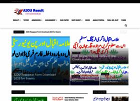 Aiouresult.pk thumbnail