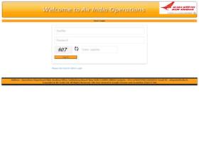 Airindiaops.airindia.in thumbnail