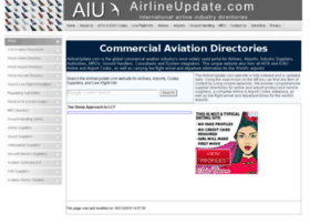 Airlineupdate.com thumbnail