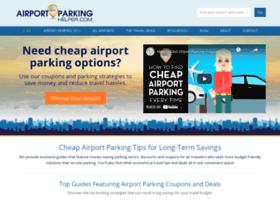 Airportparkinghelper.com thumbnail
