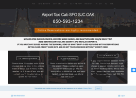 airporttaxicabservices com at WI  Airport Taxi Cab SFO SJC