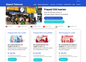 Airporttelecom.nl thumbnail