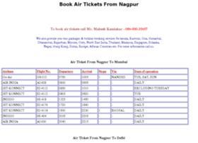Airticketingnagpur.com thumbnail