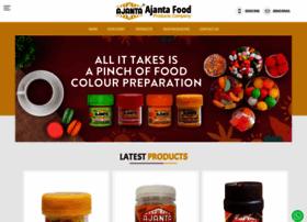 Ajantafoodproducts.in thumbnail
