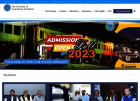 Ajku.edu.pk thumbnail