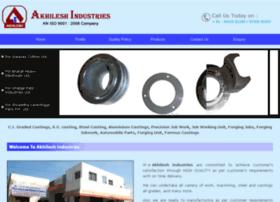 Akhileshindustries.in thumbnail